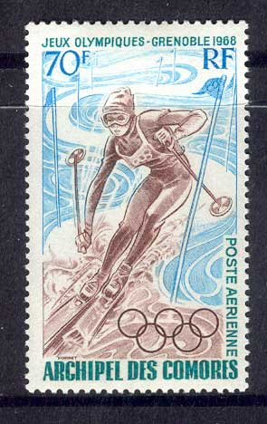Comoro Is 1968 Winter Olympics MUH Lot4210