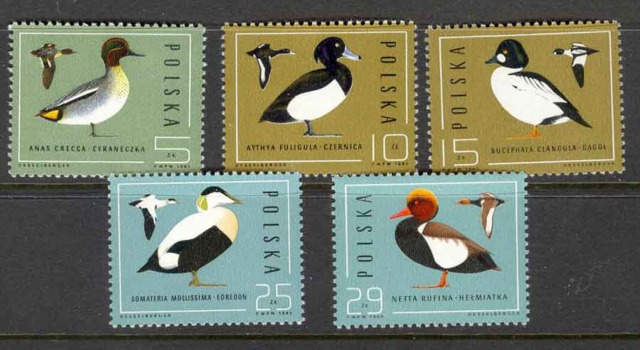 Poland 1985 Waterfowl MUH Lot6020