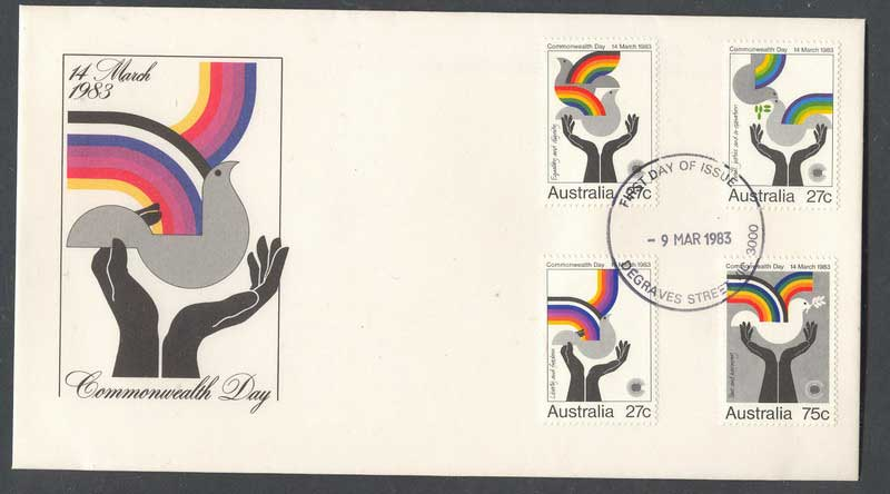 Australia 1983 Commonwealth Day FDC Lot6156