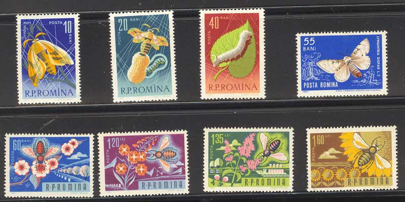 Romania 1963 Insects MUH Lot6715