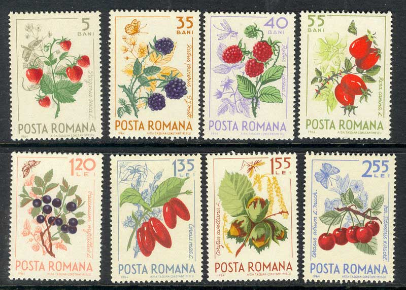 Romania 1964 Fruits MUH Lot6736