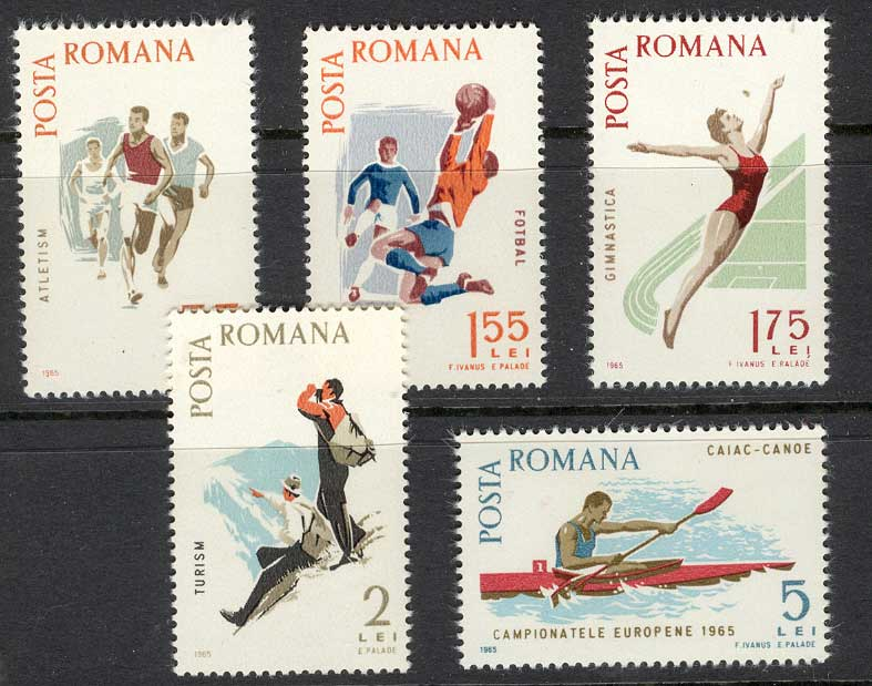 Romania 1965 Spartakist Games MUH Lot6752