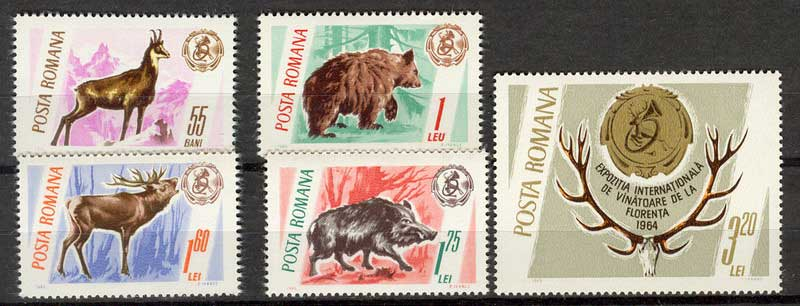 Romania 1965 Hunting MUH Lot6753