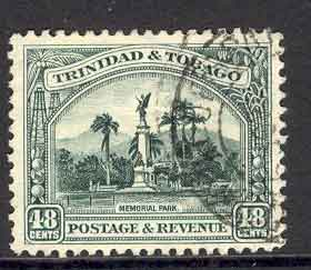 Trinidad & Tobago 1935 48c Memorial Park FU Lot6989