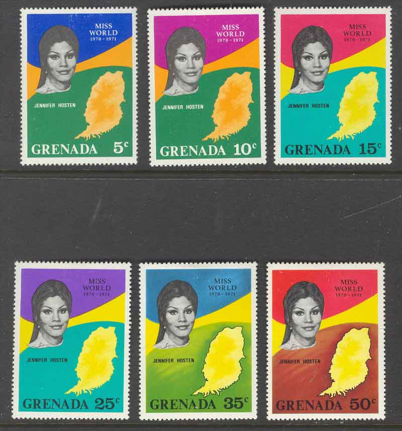 Grenada 1971 Miss World MLH Lot7222