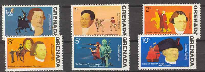 Grenada 1975 USA Revolution MLH Lot7251