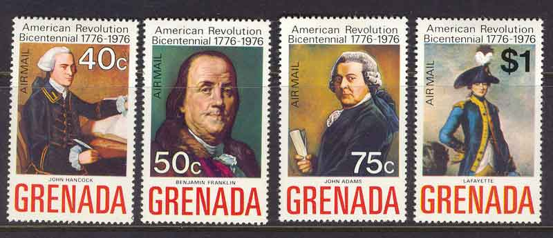 Grenada 1975 Air Mail MLH Lot7279