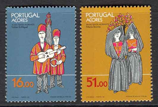 Azores 1984 Folklore MUH Lot7384