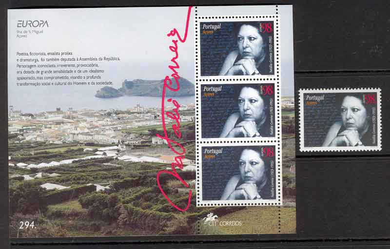 Azores 1996 EUROPA + MS MUH Lot7415