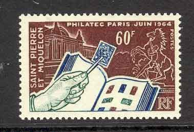 St Pierre & Miquelon 1964 60f Philately MUH Lot7643