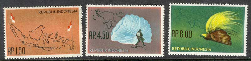 Indonesia 1965 Netherlands New Guinea MUH Lot8360