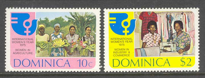 Dominica 1975 Womens Year MUH Lot8564