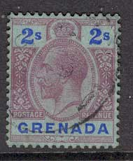 Grenada 1922 2/- violet & ultra on blue FU Lot8590