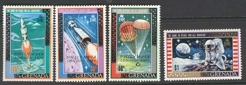 Grenada 1970 Philympia MLH Lot8638