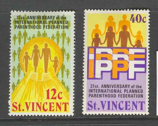 St Vincent 1973 Planned Parenthood MLH Lot9335 - Click Image to Close