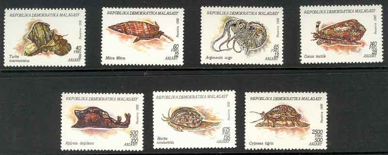 Madagascar 1993 Molluscs MUH Lot9389