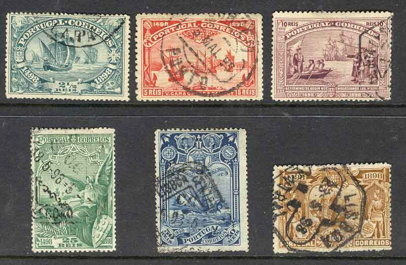 Portugal 1898 2 1/2-75r Vasco Da Gama (6) FU Lot9420