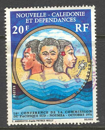 New Caledonia 1976 South Pacific Commission FU 9829