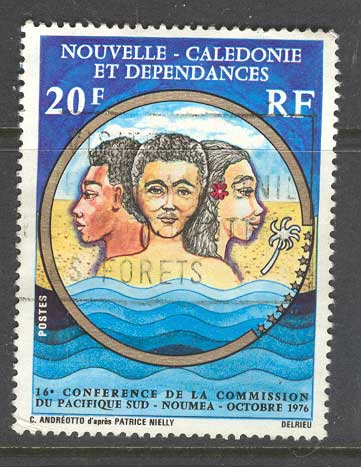 New Caledonia 1976 South Pacific Commission FU 9830