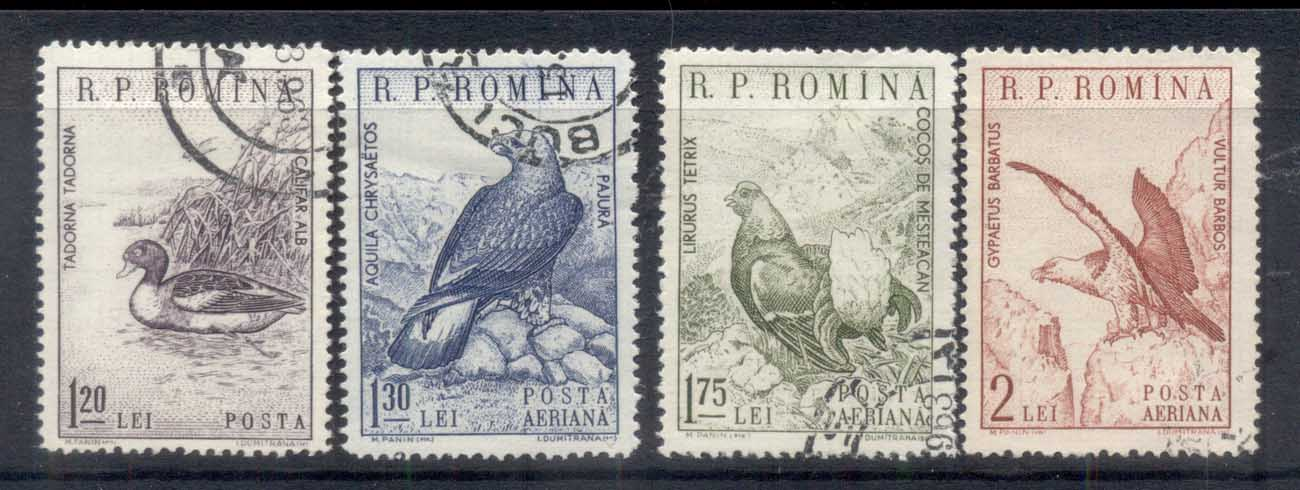Romania 1960 Birds FU