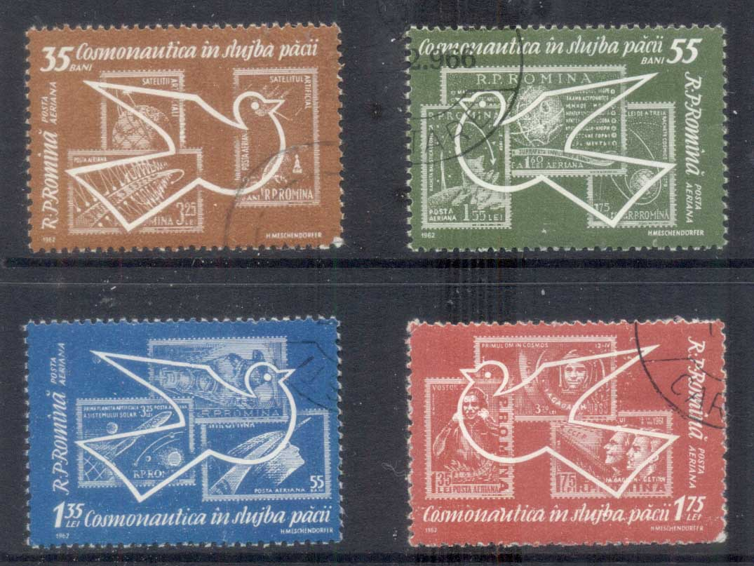 Romania 1962 Space Exploration, Bird CTO