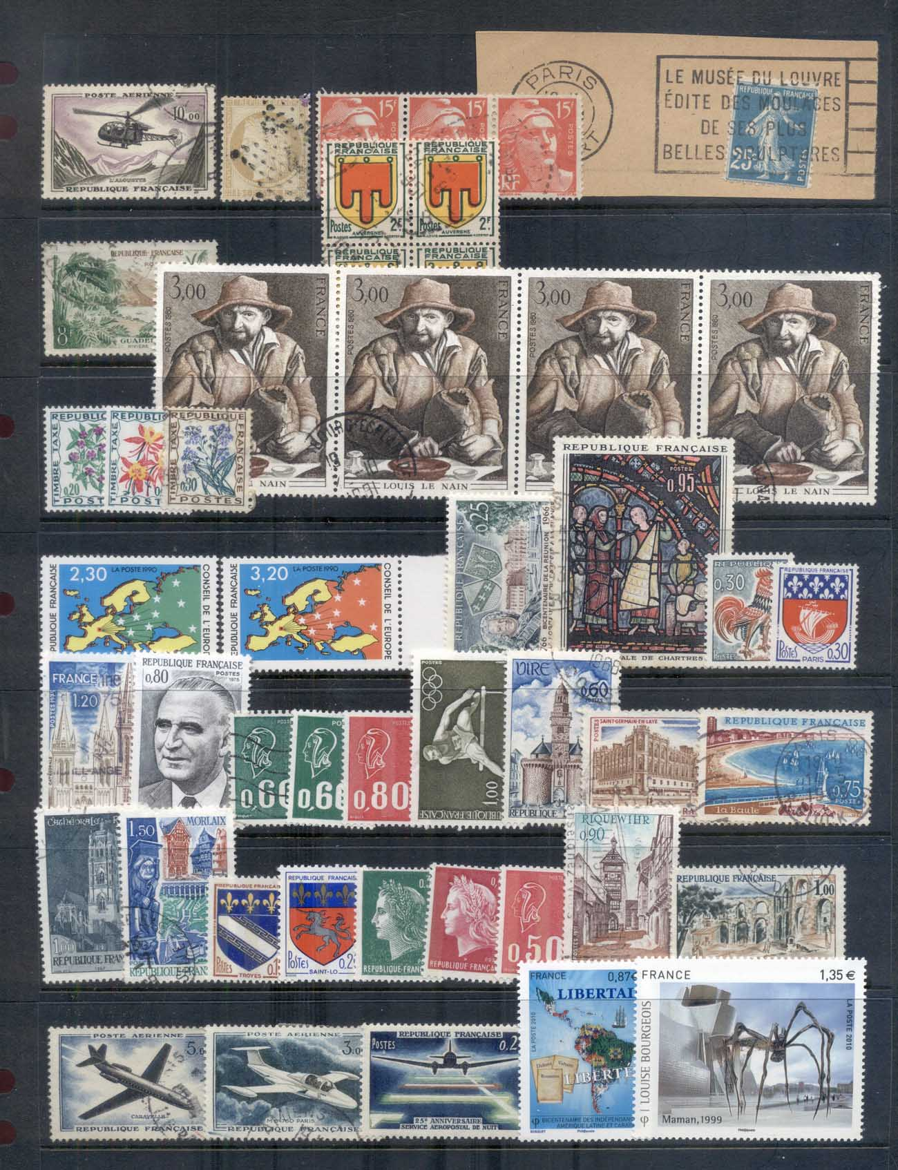 France 1970's on Assorted Oddments, many modern4 scans MUH/MLH/FU