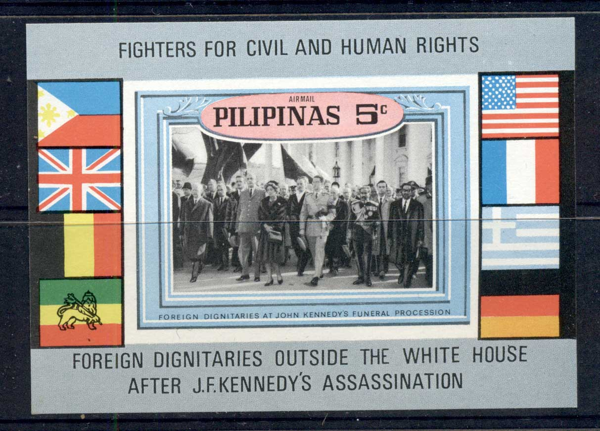 Philippines 1969 JFK kennedy, Civil Rights MS MUH