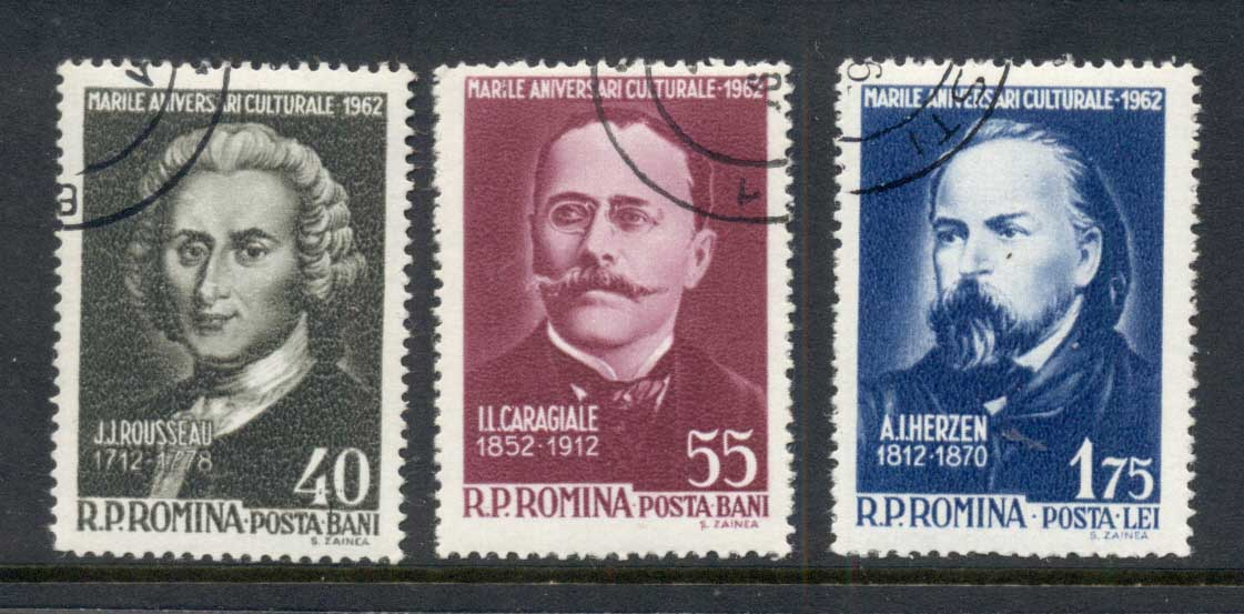 Romania 1962 Famous Men CTO