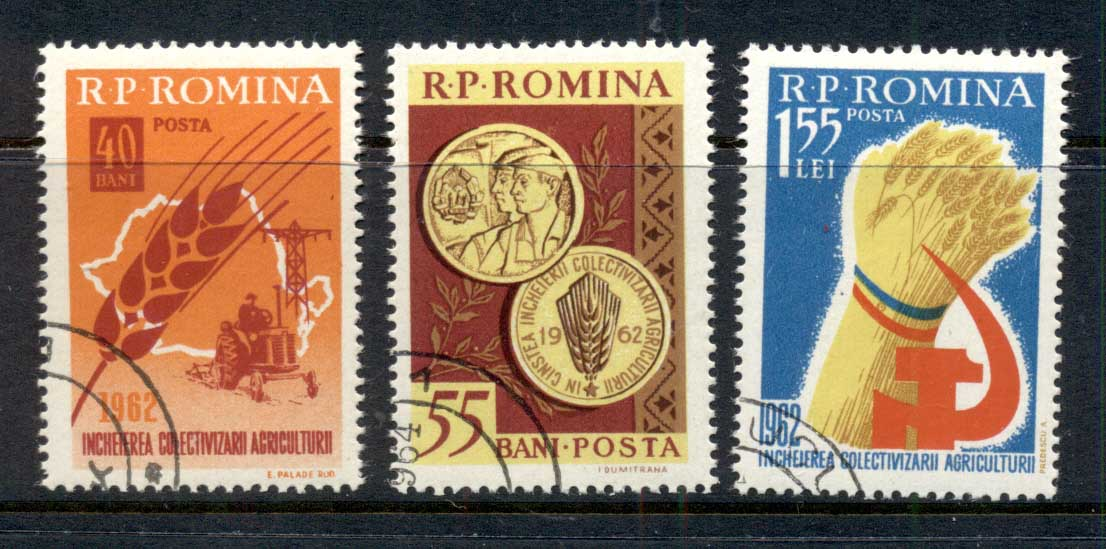 Romania 1962 Collectivisation of Agriculture CTO
