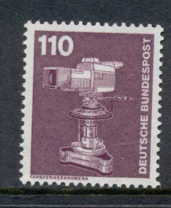 Germany 1975-82 Industries, 110pf Colour TV Camera MUH