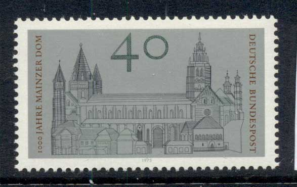 Germany 1975 Mainz cathederal MUH