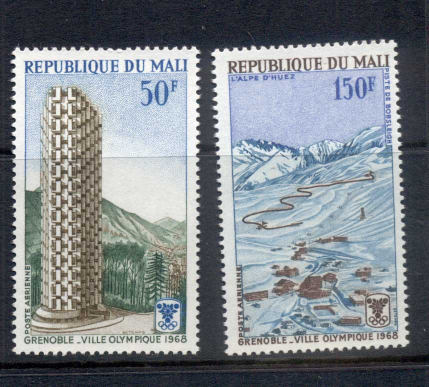Mali 1968 Winter Olympics Grenoble MUH