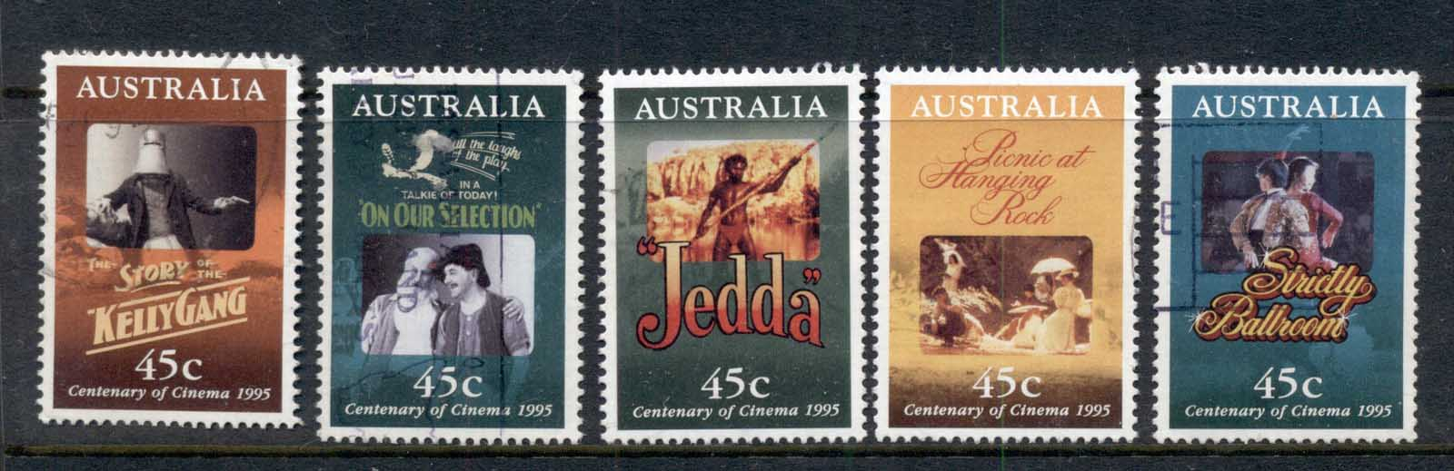 Australia 1995 Centenary of the Cinema FU