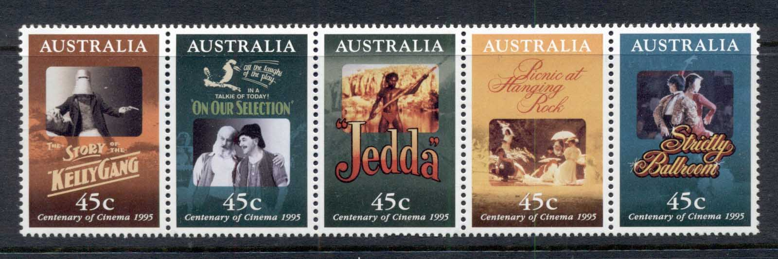Australia 1995 Centenary of the Cinema MUH
