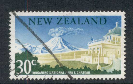 New Zealand 1967-70 Ngauruhoe Volcano 30c FU