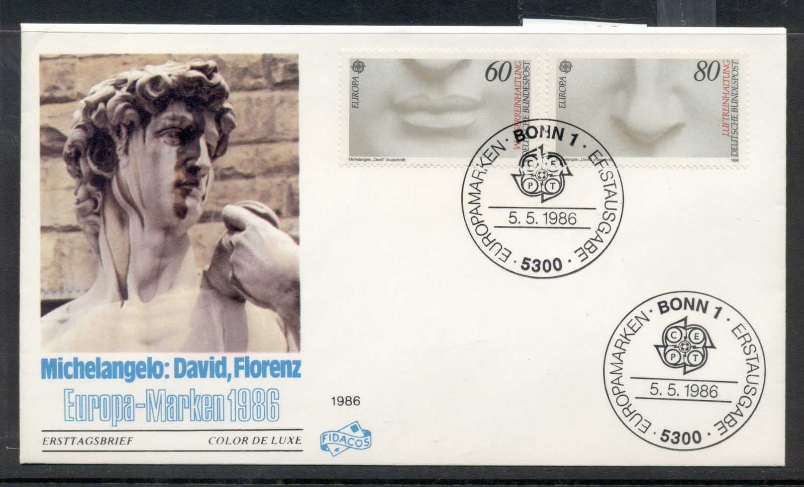 Germany 1986 Europa Environment FDC