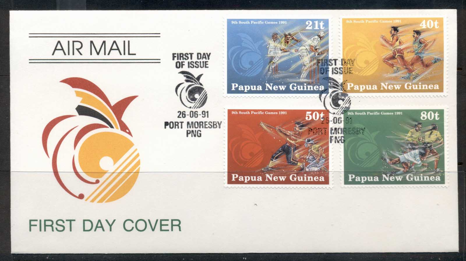 PNG 1991 South Pacific Games FDC