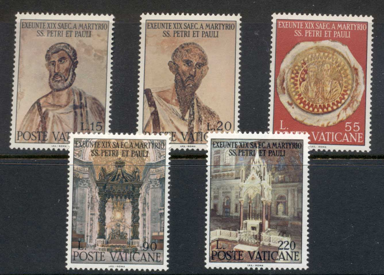 Vatican 1967 Martyrdom of the Apostles Peter and Paul MLH