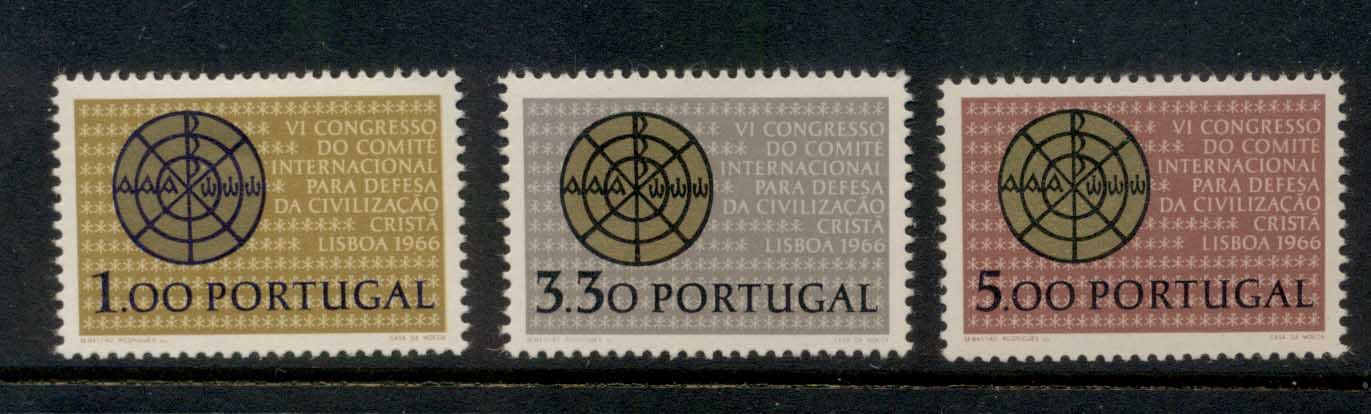 Portugal 1966 Christian Civilisation Conference MUH