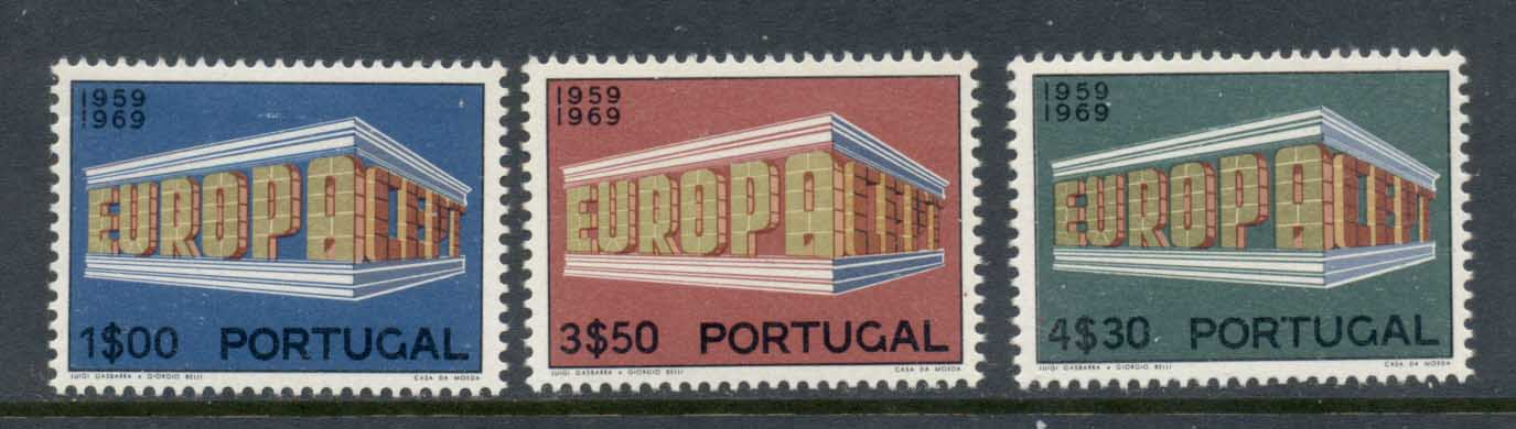 Portugal 1969 Europa MLH