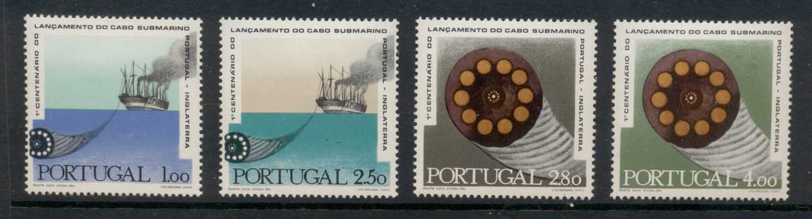 Portugal 1970 Telegraph Cable MLH
