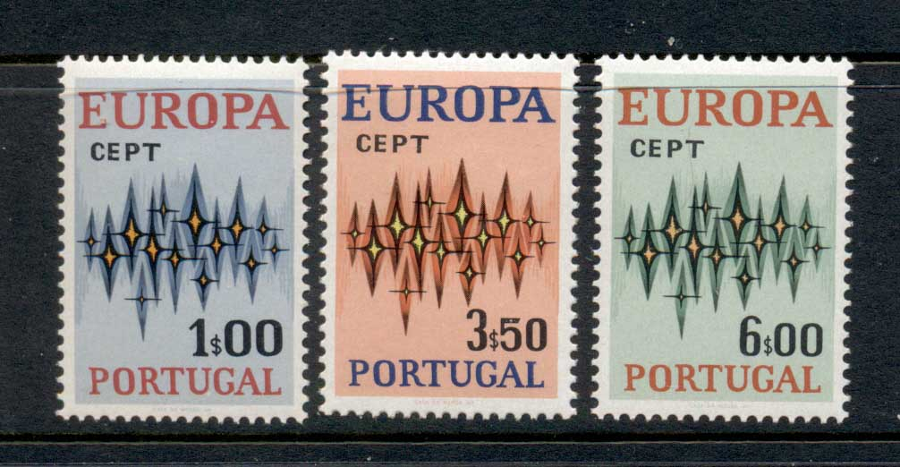 Portugal 1972 Europa MLH