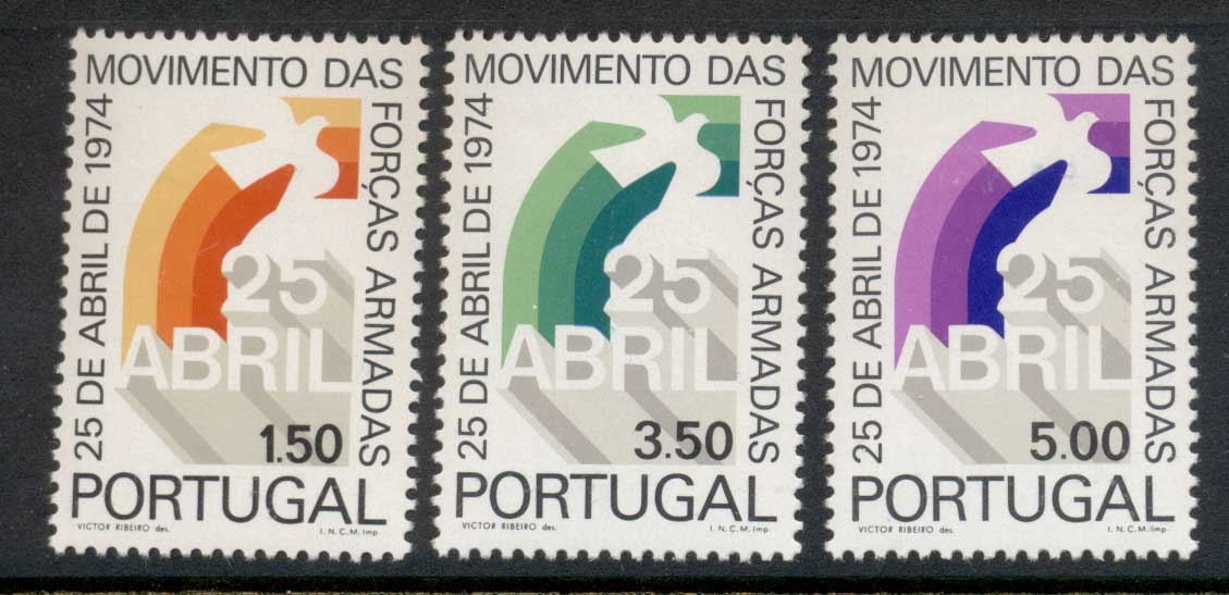 Portugal 1974 Armed Forces Movement MLH