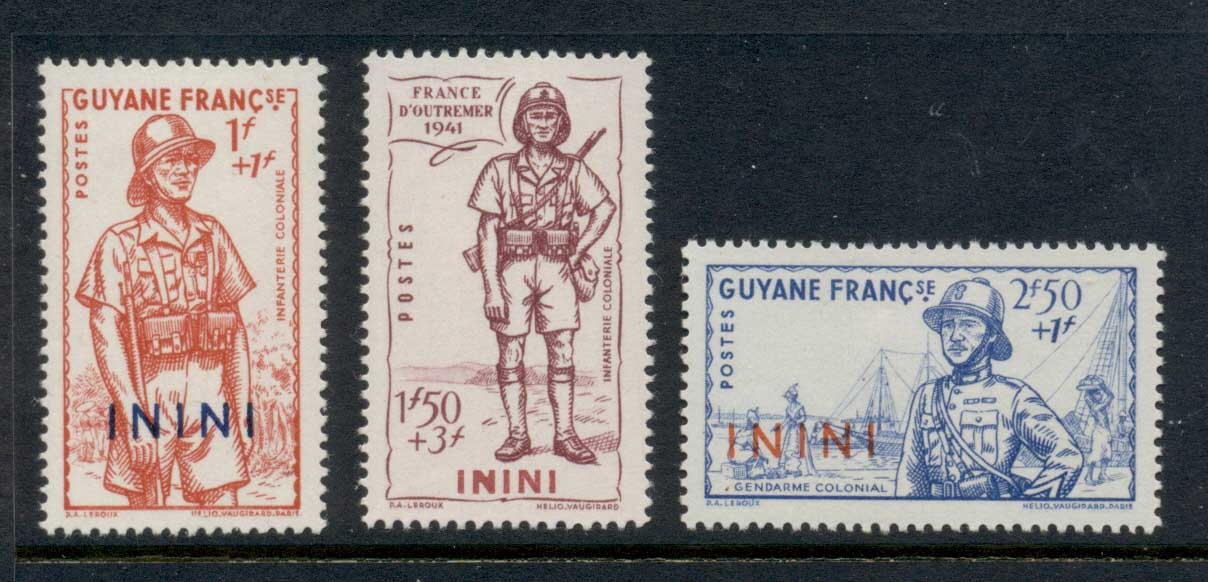 Inini 1941 Vichy Issue MLH