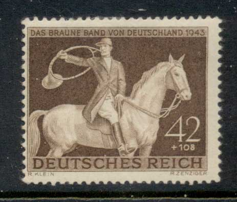 Germany Reich 1943 Brown Ribbon MLH