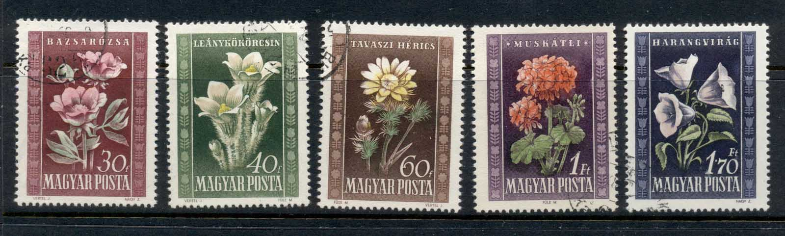 Hungary 1950 Flowers FU