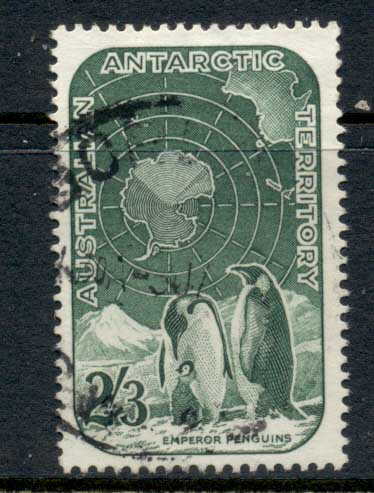 AAT 1957-59 Pictorials 2/3d Penguins