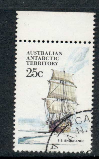 AAT 1974-81 Pictorial, Ship 25c FU
