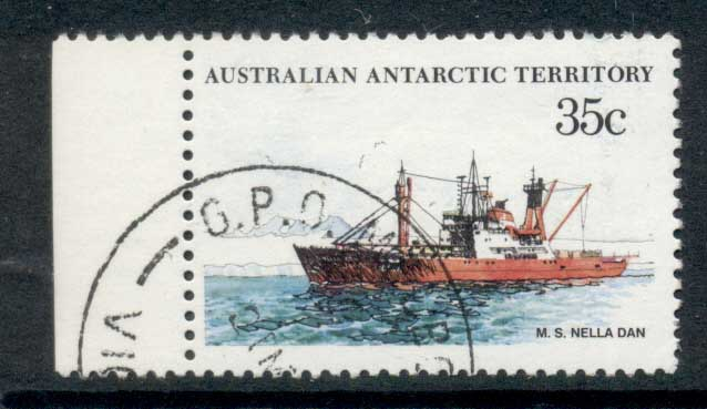 AAT 1974-81 Pictorial, Ship 35c FU