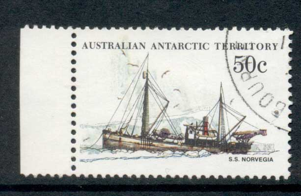 AAT 1974-81 Pictorial, Ship 50c FU